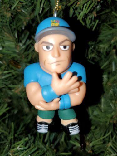 Details about  /Custom WWE Christmas Ornament John Cena blue shirt