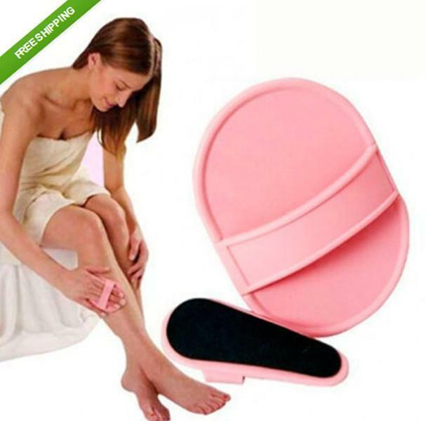 LOUS  Smooth Away Legs Skin Pads Arm Face Hair Removal Remover  Exfoliator Set