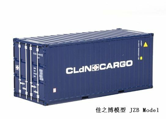 WSI 1 50 20ft CLDN 04-1138 Container Model