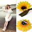 2PC-Women-Sunflower-Flower-Hair-Clip-Accessories-Barrette-Hawaiian-Wedding-Party thumbnail 1