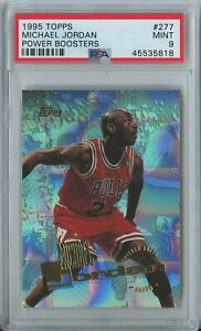 Michael-Jordan-1995-96-Topps-basketball-power-boosters-277-Chicago-Bulls-PSA-9