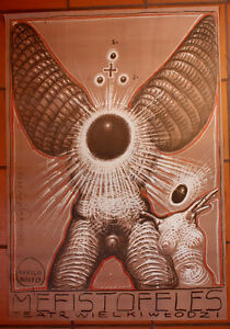 Mefisto - Arrigo Boito - Starowieyski - Polish Poster - Chojnów, Polska - Mefisto - Arrigo Boito - Starowieyski - Polish Poster - Chojnów, Polska
