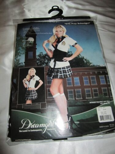 DREAMGIRL 6451 Womens NYC Prep Schoolgirl Costume several sizes reg $65