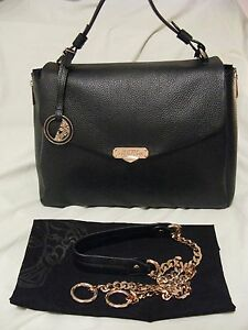 Image Is Loading Versace Collection 039 Vitello Stampa Alce Bag