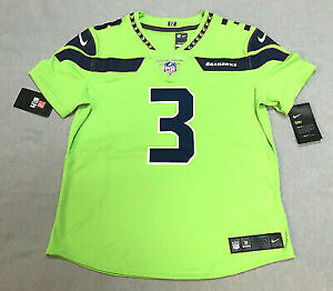 first rate 69500 7ba78 Nike Russell Wilson Seahawks Vapor Color Rush Jersey Womens ...