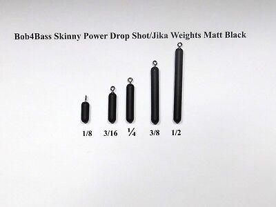 Bob4Bass Skinny Casting Drop Shot//Jika Weights 5 in a Pack