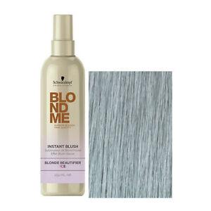 schwarzkopf professional blondme instant blush ice 250ml ebay. Black Bedroom Furniture Sets. Home Design Ideas