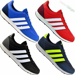 da3d8c42683 La imagen se está cargando Nuevo-Adidas-Neo-Zapatos-Hombre-V-Racer-2-