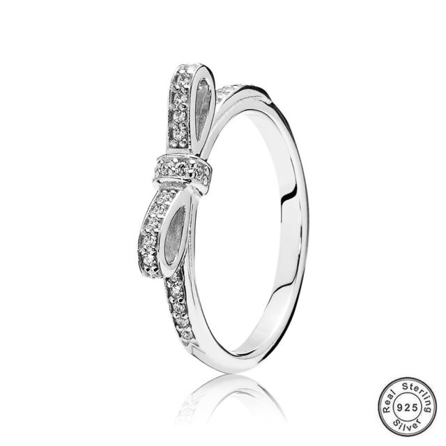 Optional Authentic S925 Sterling Silver Ring Fashion Jewelry For Women Size 6-9