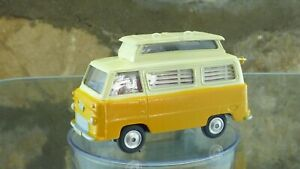 Classic VINTAGE CORGI FORD Thames AIRBORNE Caravan in crema e giallo