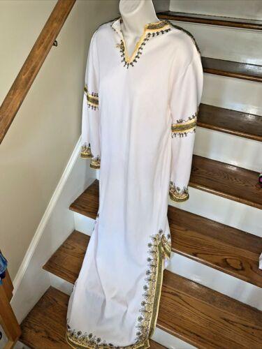 Dashiki GOLD Vintage Kimono 👘 African Tribal Chin