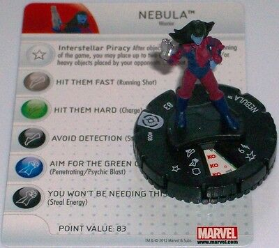 Nebulosa #008 Galactic Guardians Marvel Heroclix Avere Sia La Qualità Della Tenacia Che La Durezza
