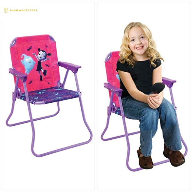 Stupendous Patio Chair Vampirina For Kids Portable Folding Lawn Chair Short Links Chair Design For Home Short Linksinfo
