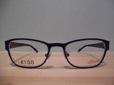 S. Oliver Purple, Grey & Black Oval Eye Glasses Mod.93782 Col.960 50 18 135