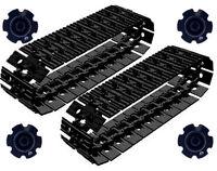 54 Lego Large Tread Links + 4 Sprockets (technic,robot,track,tank,ev3,crane,car)