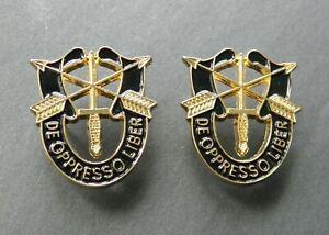 Special-Forces-DE-OPPRESSO-LIBER-Set-of-2-Lapel-Pins-1-INCH-Pin