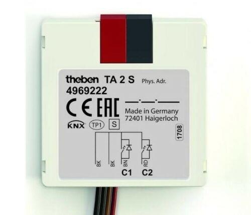 TA2-4969209 2ch Push Button Interface Theben KNX