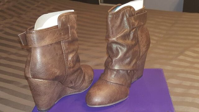 e8d898121b7 Steve Madden BOOTIES Ankle BOOTS Size 7.5m