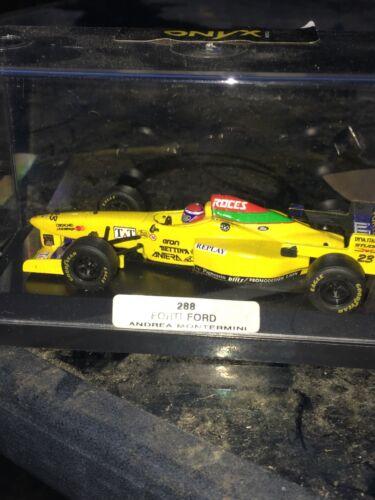 FORTI FORD FG03 1996 EUROPE Grand Prix Andrea Montermini 1:43 Onyx