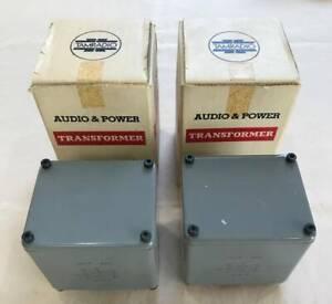 Ex-RARE-Pair-Tamura-4714-single-end-output-transformer-for-preamp-power-amp