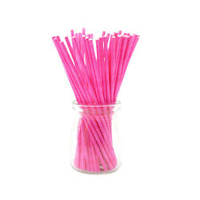 100Pcs/Set Colorful Lollipop Sticks Cake Pop Sticks for Candy Chocolate 10cm PR