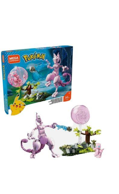 Mega Construx Pokemon Mew vs. Mewtwo Clash