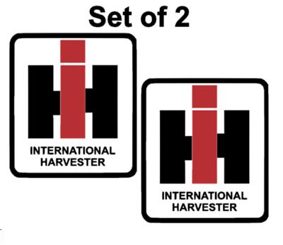International Harvester IH Sticker Die Cut Decal Self Adhesive Vinyl 2x