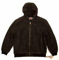 Levis Bomber Jacket Black Size Xx-large Heavy Duty Canvas / Sherpa Lined on sale