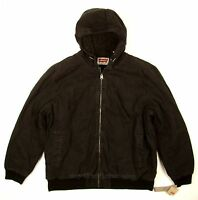 Levis Bomber Jacket Black Size Xx-large Heavy Duty Canvas / Sherpa Lined on sale