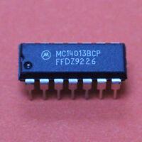 5 STK. MC14013BCP - Dual Type D Flip-Flop - Motorola - PDIP-14 - 5pcs