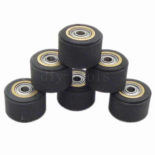6pcs Pinch Roller 3mmx11mmx16mm For Roland Vinyl Plotter Cutter Printer Parts