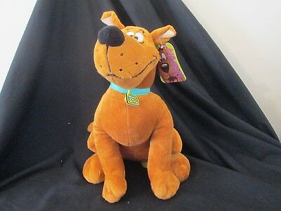 SCOOBY-DOO SITTING PLUSH SOFT TOY 35cm BRAND NEW WITH TAG OFFICIAL