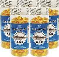 5 Nu-health Cod Liver Oil (800 Softgels , 500 Mg) Epa, Dha. 26 Months Supply