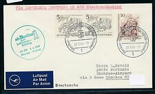 62389) LH  FF München - Dhahran Arab 3.4.69, Brief ab Berlin