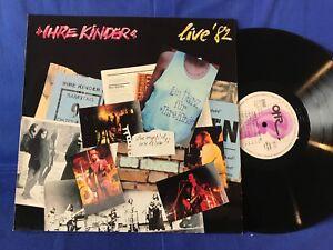 IHRE KINDER LIVE 82 OHR LP ORIGINAL GERMANY EXC+