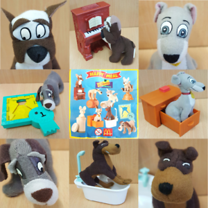 McDonalds-Happy-Meal-Toy-2001-Lady-amp-Tramp-Scamps-Adventure-Toys-Various-Figures
