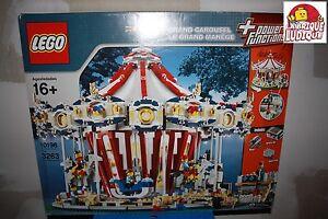 Lego - boite grand carousel carrousel manege rare collector 10196 NEUF