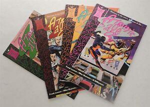 ESZ7380-ATOMIC-AGE-Parts-1-4-Prestige-Format-Graphic-Novel-Epic-Comics-1990