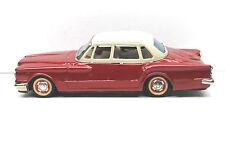 "Rare Red 1960s Bandai Japan Tin Litho Plymouth Valiant 9"" Toy Tinplate Vehicle"
