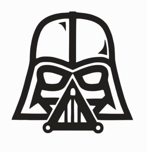 FREE SHIPPING Darth Vader Star Wars Vinyl Die Cut Car Decal Sticker