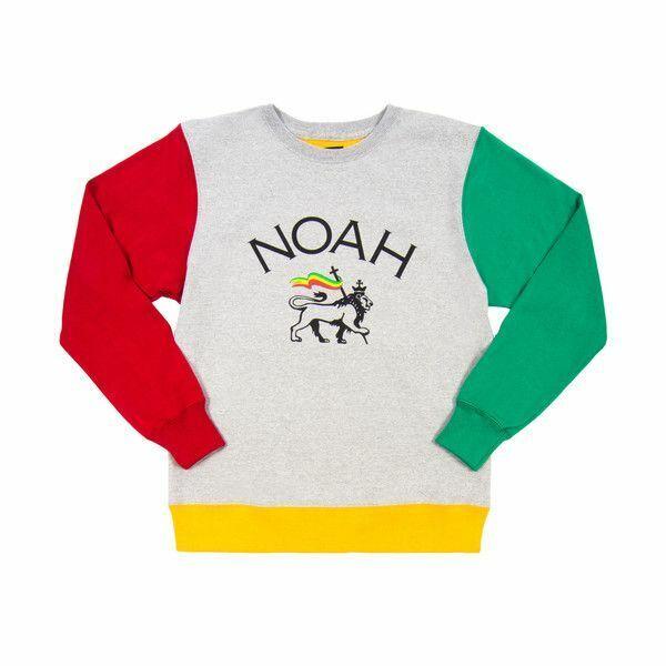 Noah Lion Of Judah Größe XL Farbblock Rundhalsausschnitt Sweatshirt - Neu