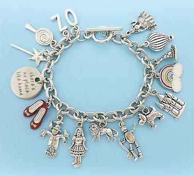 TIN MAN/_Bead for Silver Euro Charm Bracelet/_Wizard of Oz Movie Cartoon Dorothy