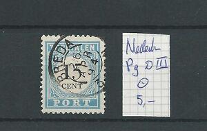 "PORT P9 D-III ""BREDA 1894""   VFU/gebr  CV 6 €"