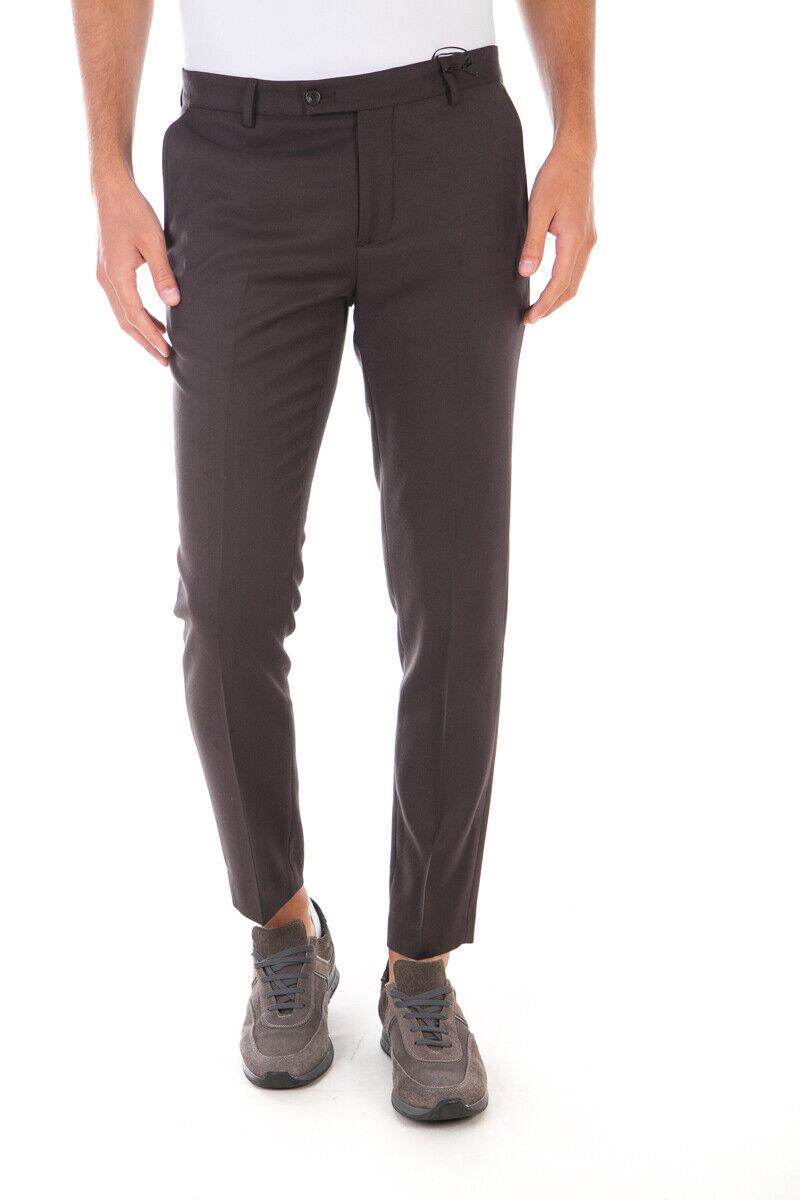 Pantaloni Daniele Alessandrini Jeans Trouser ITALY men brown P3323N7433605 24