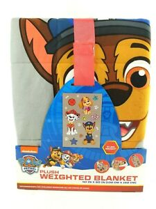 Paw Patrol Toys New Plush Weighted Blanket 40 Quot X 60