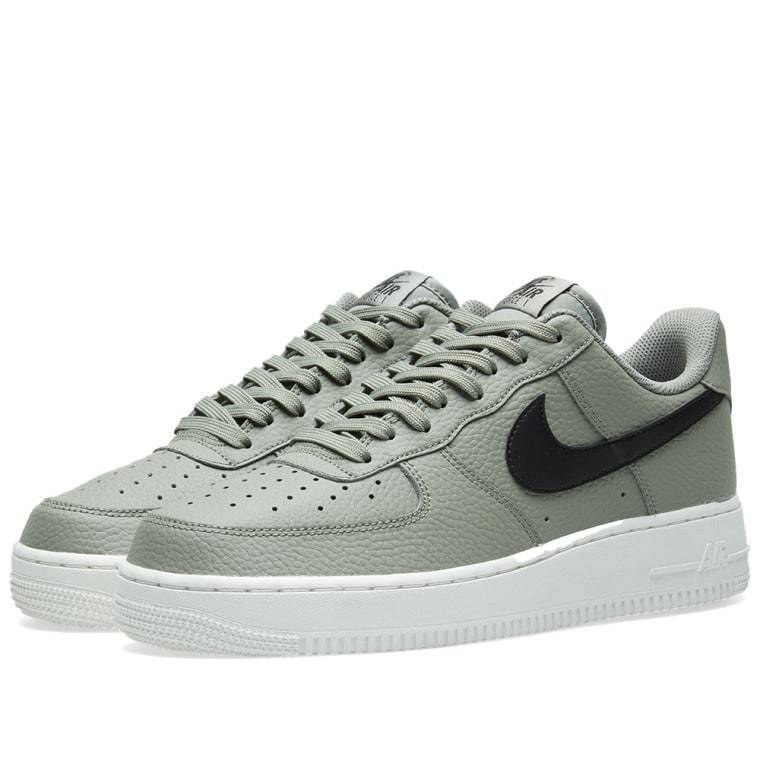 Nike Men Air Force 1 1 1 '07 Casual Shoes Olive Black AA4083-007 US7-11 04' 04533e