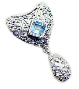 appealing-Blue-Topaz-925-Sterling-Silver-Blue-Pendant-Natural-supplies-US-gift