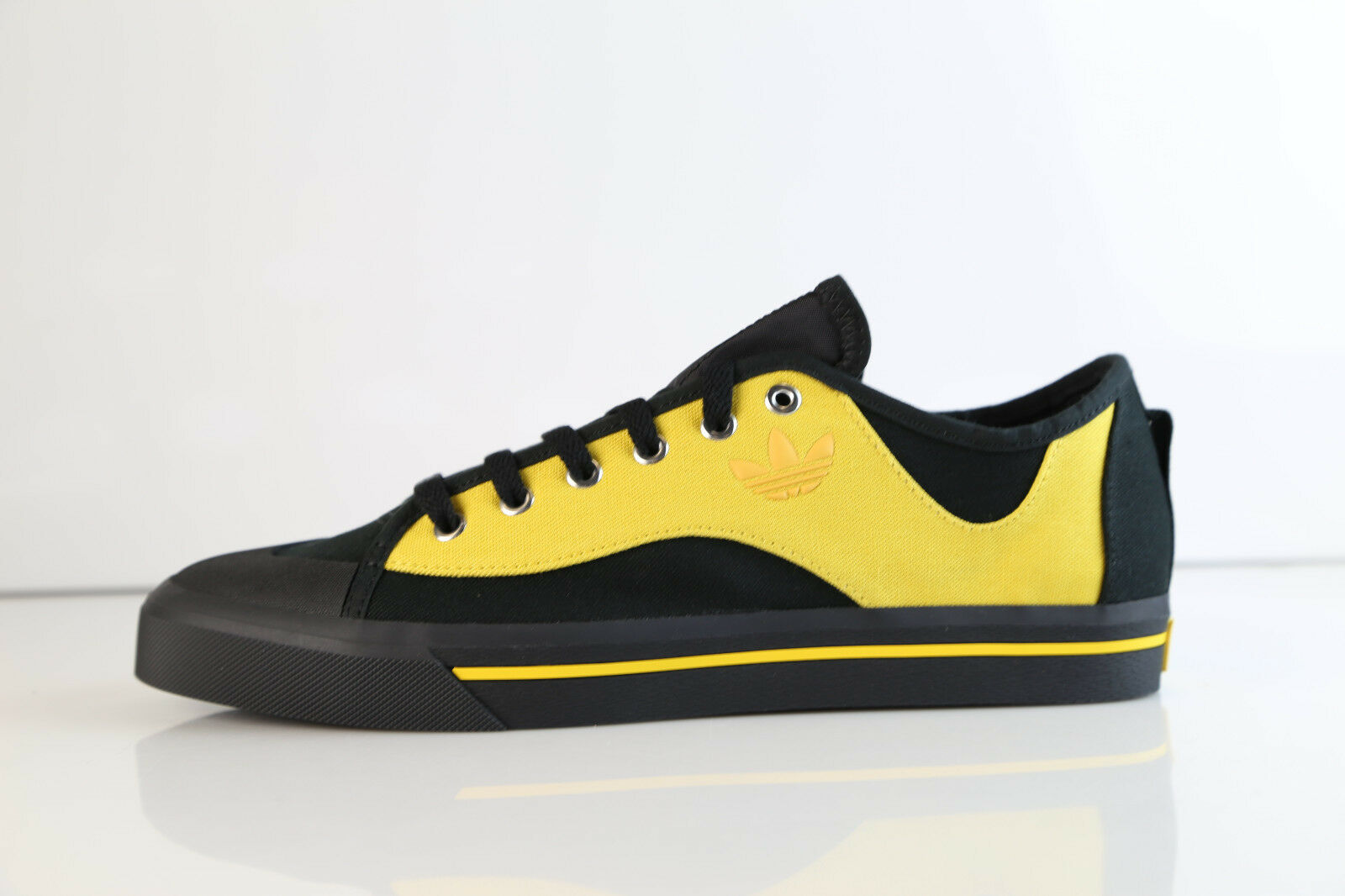 Adidas Raf Simons Spirit V Low Core Noir Jaune DA8760 9- rs casual stan