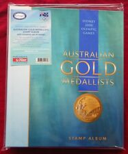 Sydney 2000 Olympics Australian Gold Medallists Stamp Album with Complete Stamps