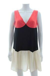Miu-Miu-Colour-Block-Silk-Dress-Multi